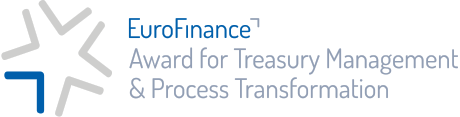 EuroFinance Award for Treasury Management & Process Transformation